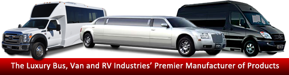Limousine bus van sprinter parts accessories and seating for Premier motors elkhart indiana