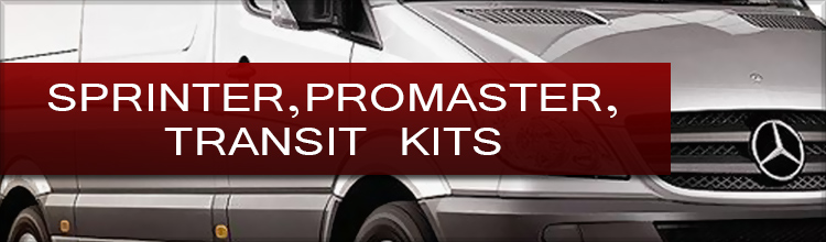 Sprinter HVAC Promaster HVAC and Transit HVAC Kits