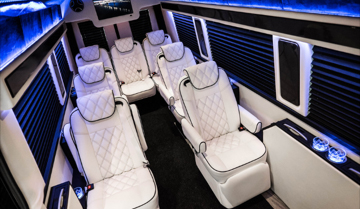 Sprinter and Van Bus and RV custom luxury seating