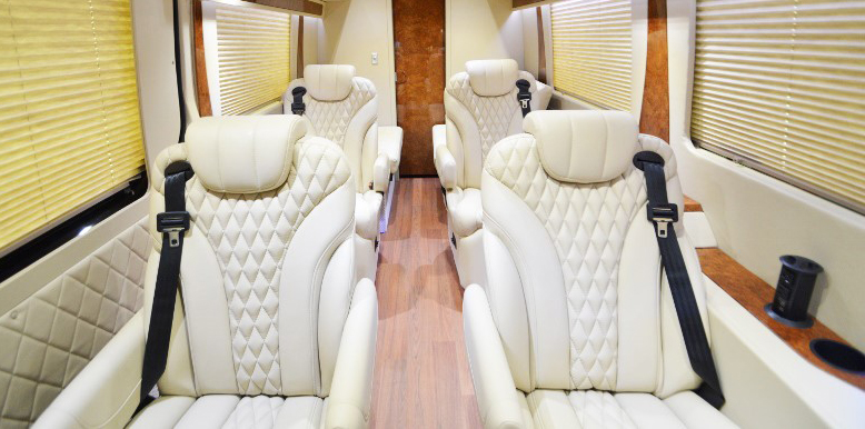 Maybach Captain Chair Sprinter Luxury Seating
