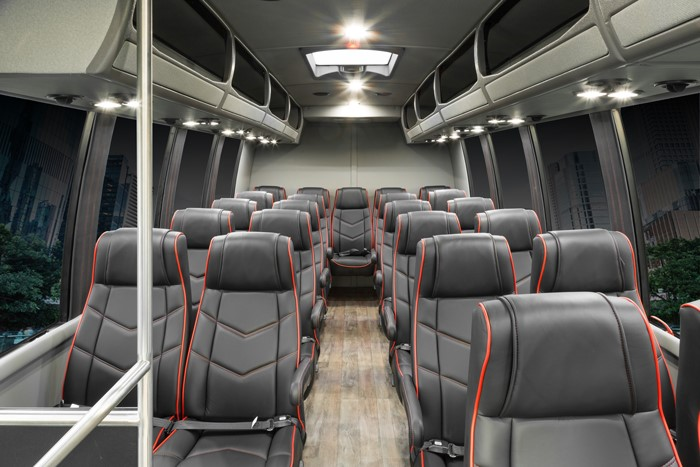 Sprinter Bus and Shuttle Seating