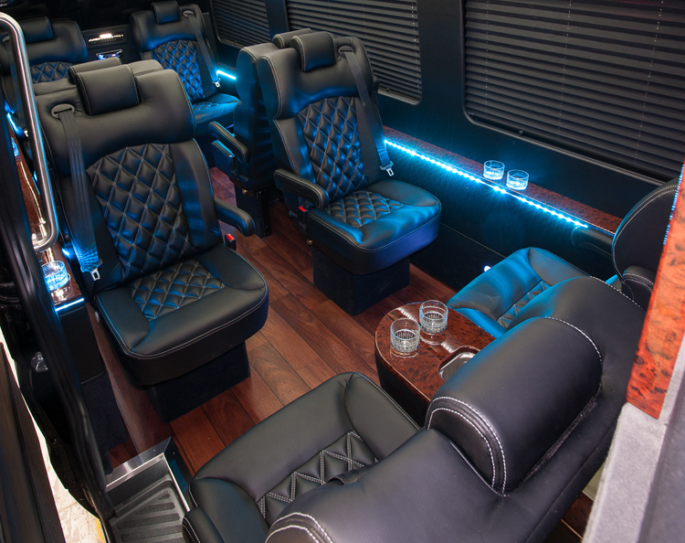 Bus and Shuttle luxury seats