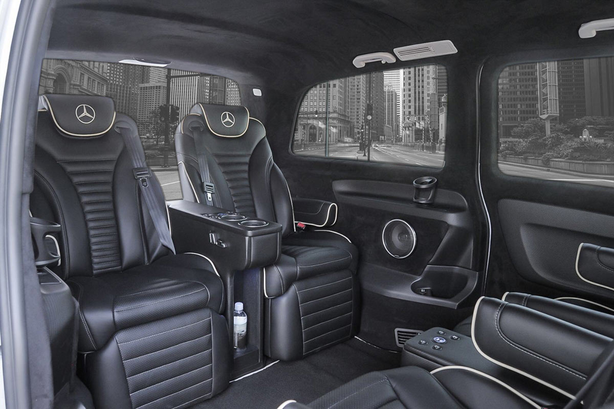 Sprinter, RV, Bus and Limo seating options - Premier Products