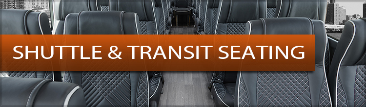 Bus & Van Shuttle Seating for Conversion Vans Buses and Shuttles